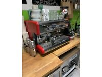 85 sprint e coffee machine 2 group