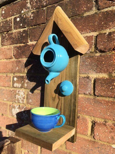 The 'original' TFD Handmade, rustic bird feeders