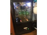 Glass display fridge for sale