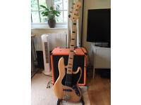Fender Squier Vintage Modified 70s Jazz Bass - Seymour Duncan Pickups