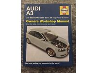 Haynes Manual Audi A3 June 03 to 08 (petrol & diesel)
