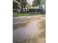 Bradstone block paving (buff)