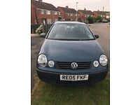 2005, VW POLO 1.2, PETROL,MANUAL,MOT 01/01/2018