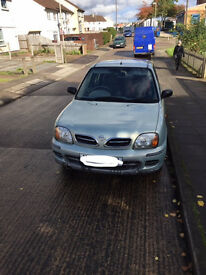 Nissan Micra Y reg for sale