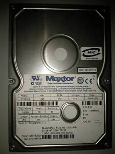 Maxtor 20 Gb IDE Hard Disk