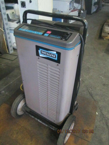 TOTALINE TOTALCLAIM REFRIGERANT RECOVERY&RECYCLE UNIT_POWERS ON_AS-PICTURED~