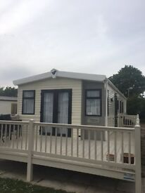stunning pre owned 2 bed static caravan holiday home sited in hunstanton norfolk - Incs 2017 fees
