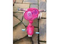 Childrens Barbie Tricycle - Pink