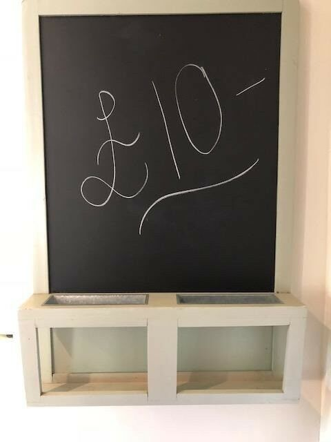 Ikea Magnetic Chalkboard Blackboard Kitchen Ping List Menu S