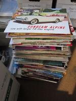 THOUSANDS of Car Brochures 1900s - 2012 BMW Ford Porsche Dodge +