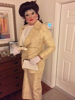 HALLOWEEN COSTUME - MOMMIE DEAREST LOOKALIKE/JOAN CRAWFORD OUTFIT - DRAG QUEEN! - Joan Crawford Halloween Costume