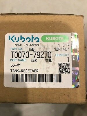 Kubota T0070-79270 Oem Ac Receiver Drier Cab Tractors