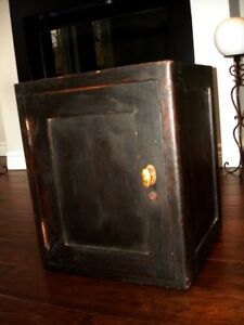 antique PIE SAFE Tin Lined Victorian BAKERY shop display 1800s