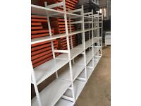 JOB LOT LINK INDUSTRIAL SHELVING 2.3M HIGH ( PALLET RACKING , STORAGE)