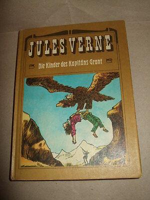 Die Kinder des Kapitäns Grant, J.Verne, 1972 ,Seemanns-Geschichte,DDR-Kinderbuch