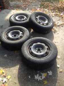 VW Winter Rims and Tires Windsor Region Ontario image 1