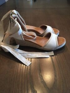 Ugg wedge sandal - size 6 - $50 - perfect condition