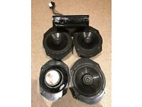 FOR QUICK SALE! X 4 JBL SPEAKERS & SONY CDX CAR AUDIO SYSTEM (MUST GO!!)