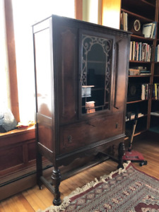 Antique China Cabinet or Book Case