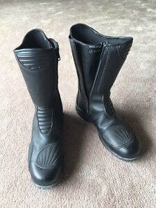 TCX motorcycle boots, women's size 9.5 (41) - $80.00