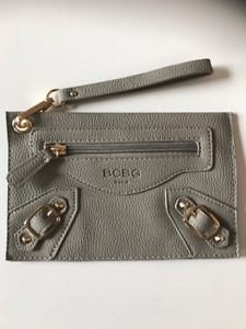 BCBG Leather Clutch Wristlet - NEW