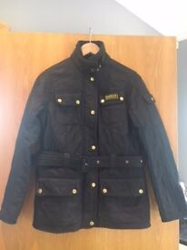 Ladies Black Quilted Barbour Jacket, Size 10