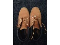 Timberland boots grey and brown