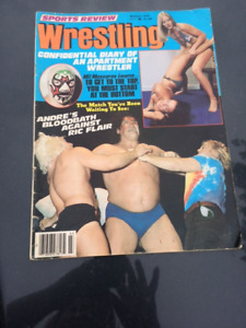 Lot of Wrestling Magazines for Sale