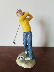 "Royal Doulton Figurine ""Teeing Off"""