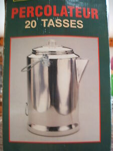 20 cup aluminum percolator for camping or hunting like new Sarnia Sarnia Area image 1