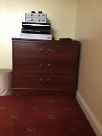 Three Chest of Draws - excellent condition