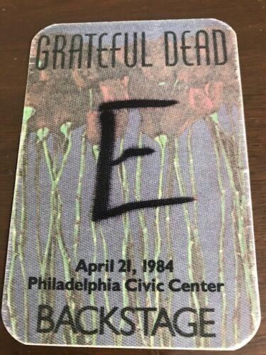 Grateful Dead - April 21, 1984 Philadelphia Civic Center backstage pass