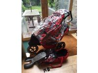 Phil and Ted Sport double buggy with extras VGC