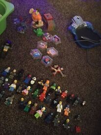 mix of lego toys and extras