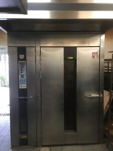 OV210G1 ROTATING RACK OVEN  GAS SINGLE FEATURES cost new $43,000 Frenchs Forest Warringah Area Preview