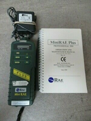 Rae Systems Minirae Photoionization Gas Detector Pid Pgm-76is 8520n