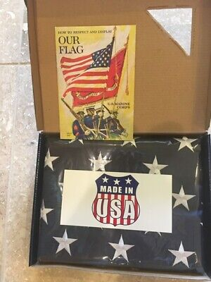 3'x5' U.S.A PolyTex 2ply Extra American polyester Outdoor Poly Flag MADE IN USA