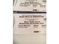 Bear Grylls Endeavour Arena Tour - Metro Radio Arena, Newcastle