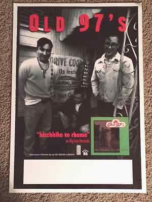 "Old97s ""Hitchhike to Rhome"" Poster"