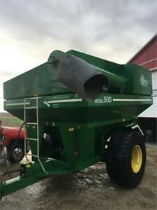 E-Z Trail grain buggy