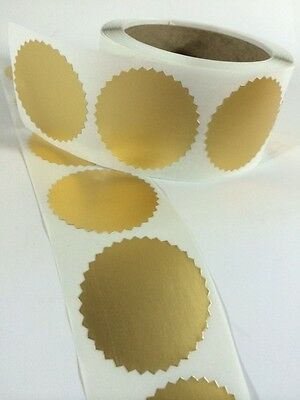 100 2 Certificate Wafer Seals Labels Awards Legal Embossing Stickers Craft New