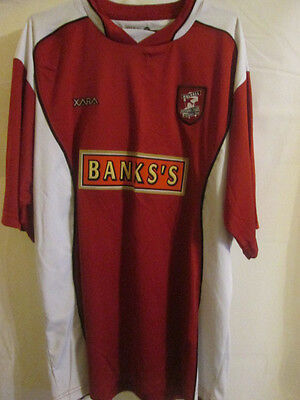 Walsall 2003-2004 Home Football Shirt Size Large /7674 image