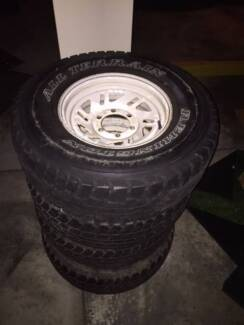 4Runner Spare Tyre & Rim Set Indooroopilly Brisbane South West Preview