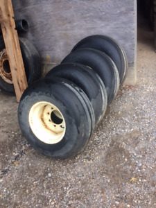 12.5 x 15 implement tires and 8 bolt rims