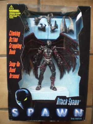 Attack SPAWN aus SPAWN The Movie von Mc FARLANE Toys 1996 original Verpackt