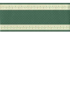 COUNTRY GREEN TRIM  WALLPAPER BORDER