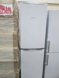 **HoTpOiNt FULLSIZE FRIDGE FREEZER/FAST FREEZE/FROST FREE/SAFETY GLASSFREE LOCAL DELIVERY IN DUNDEE*