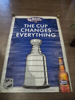 Bud Light NHL Stanley Cup Banner NFL Banners Man Cave