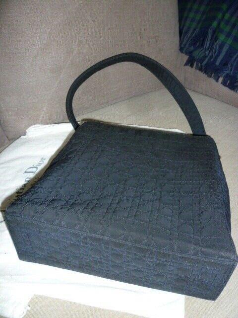 Christian  dior chic sac lady noir cannage