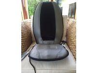 HoMedics Shiatsu Massage Cushion fits on normal chair, hardly used, original box